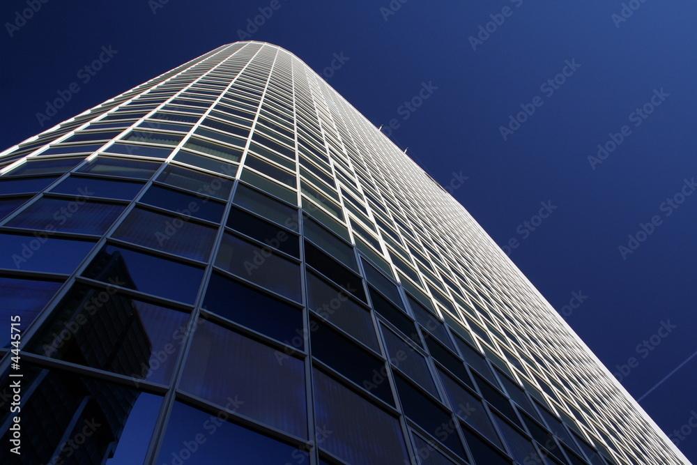 Leinwandbild Motiv - Dream-Emotion : Wolkenkratzer