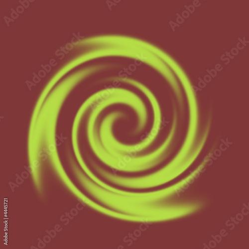 Spiral Spirale grün