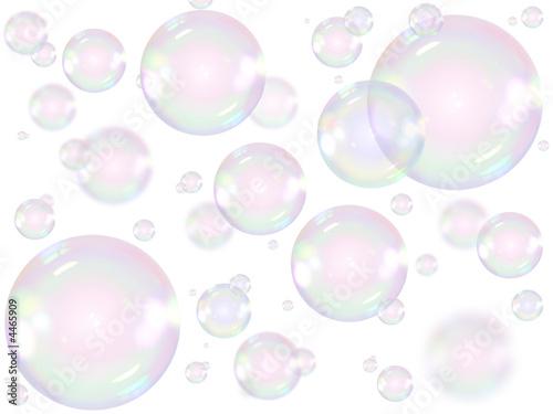 Cuadros en Lienzo Bulles de savon