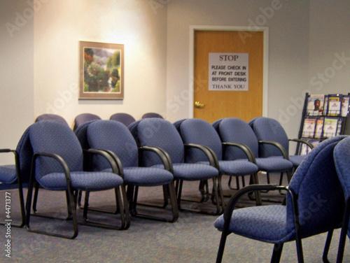 Fotografie, Obraz  waiting room
