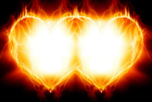 Double Burning Hearts