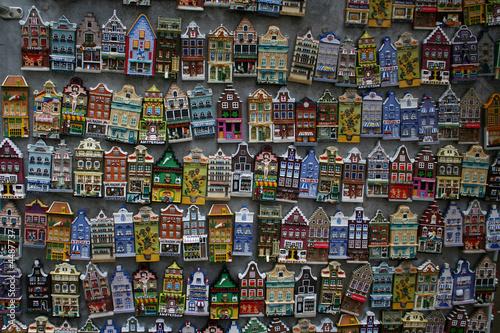 magnets à Amsterdam Wallpaper Mural
