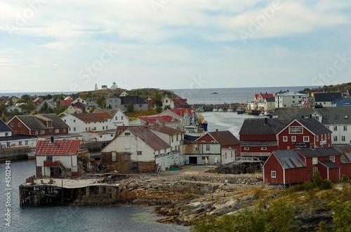Foto op Aluminium Arctica Scandinavia