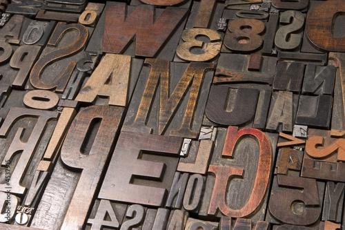 Fotografía  Wood type 2