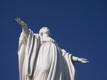 Holy Mary Statue, Santiago Chile
