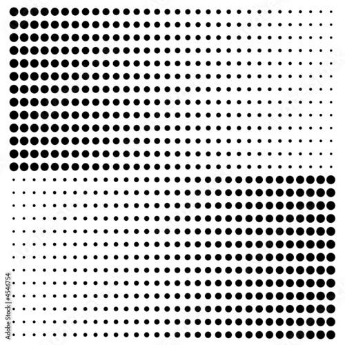fond tramé Canvas Print