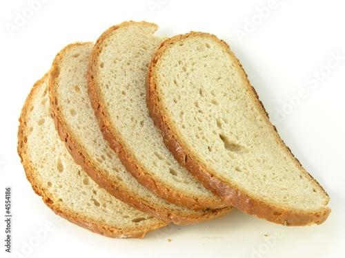 Canvas slices of bread