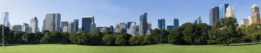Fototapety, obrazy: Manhattan from central parc