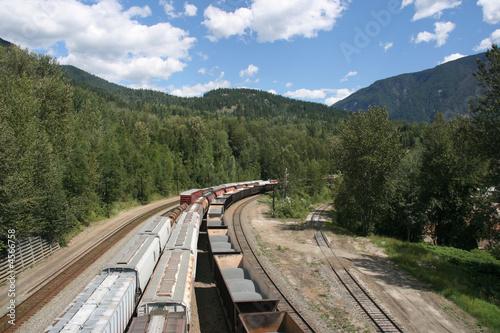 Photo  Cargo trains