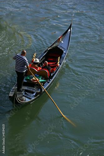 Foto op Aluminium Gondolas gondole à Venise