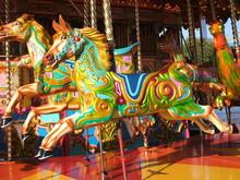 A Carousel Horse On A Fun Fair...