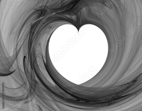 monochromatyczne-serce