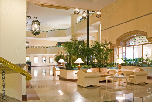 Hotel Lobby and Conference Center