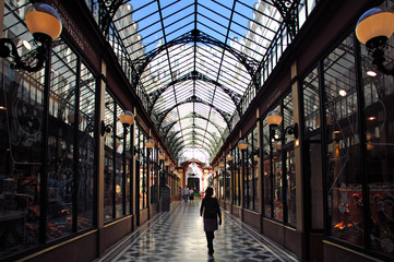 France, paris: Passage