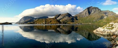 Fotografie, Obraz  Lofoten Panorama
