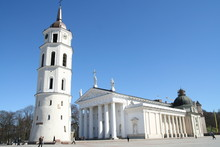 Vilnius Cathedral And Belfry T...