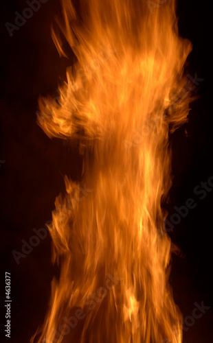 Valokuva Tongues of flame.