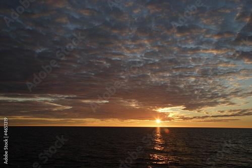 Fotografie, Obraz  Im Lichte der Mitternachtssonne in der Arktis