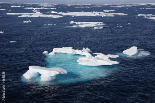 Fotografie, Obraz  Eisfeld in der Arktis