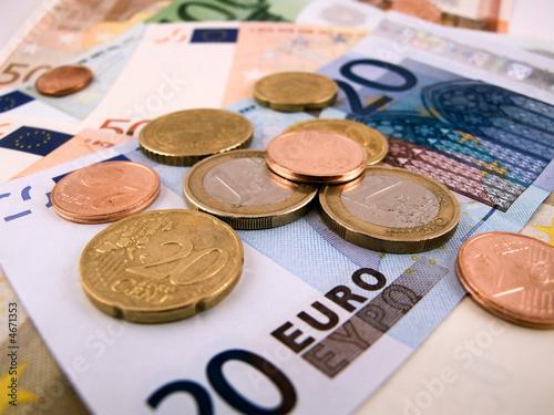Fotografie, Obraz  geld