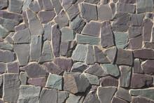 Rock Wall Or Path - Purple Grey Slate