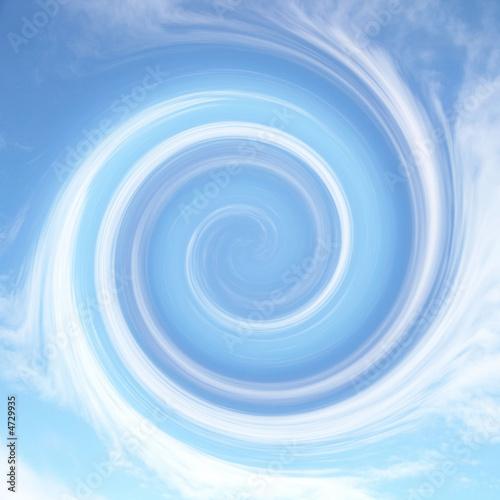 Door stickers Spiral Hintergrund_5