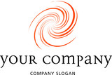 logo, logotype, spirale