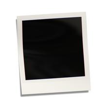 Empty Polaroid Photograph