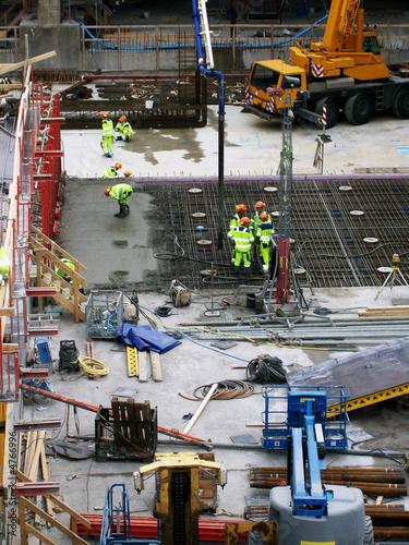 Foto op Plexiglas Malmo construction site 02