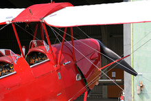 Side Of Red Light Aircraft