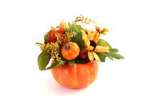 Isolated Halloween Flowers