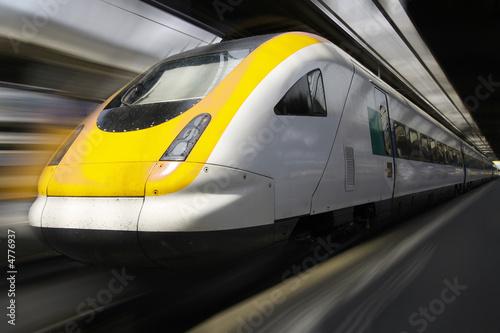 Passenger Train #4776937