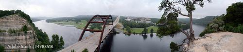 Poster Texas Austin 360 Bridge