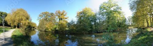 Fotografie, Tablou Canal d'ille et rance