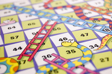 Detail Of Snakes And Ladders G...