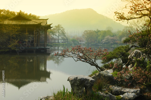 West Lake,  Hangzhou China #4809111