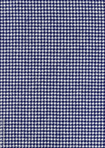 Photo  Houndstooth fabric pattern background