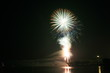 canvas print picture - FireWork No. 12