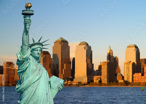 Poster New York The Statue of Liberty