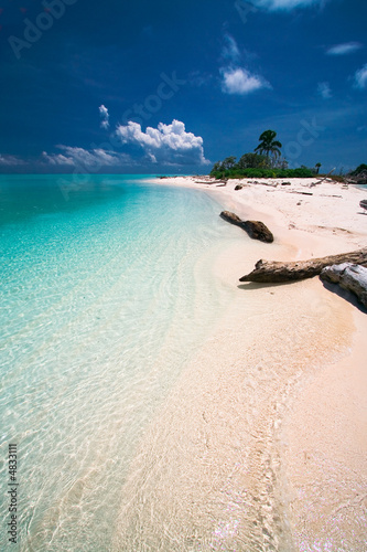 Foto Rollo Basic - Tropical island paradise