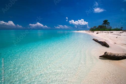 Tropical beach Tropical island paradise