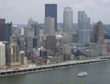 Pittsburgh Skyline From The Incline