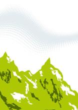 Hintergrund Modern Berg