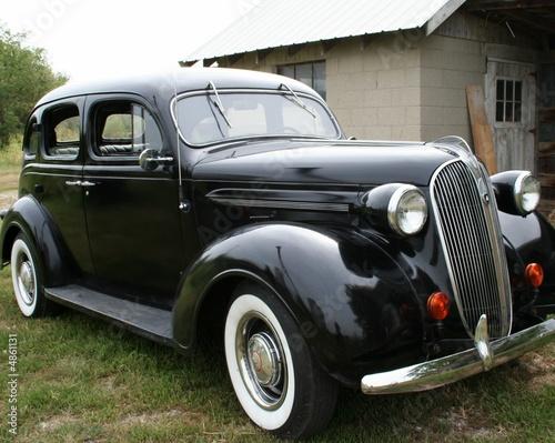 Valokuvatapetti 1937 Black Plymouth