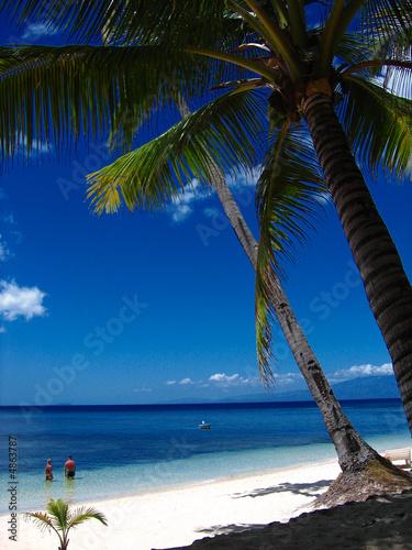 Foto-Kissen - Tropical beach paradise