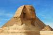 canvas print picture head of sphinx - egypt