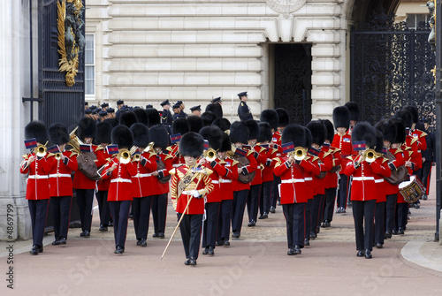 Fotomural Guard Change at Buckingham Palace