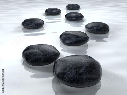 Foto-Stoff - Stones 3