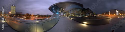Foto op Plexiglas Panoramafoto s Panorama BMW Welt