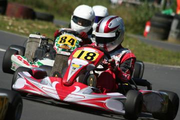 Kart Race Closeup